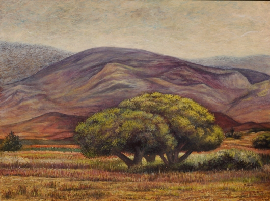 Oaxaca series - Oil painting