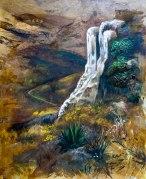 Cascadas de Hierve el AguaMixta60x50 cm