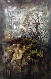 Hierve el Agua Óleo 120 x 80 cm.